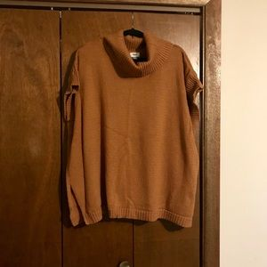 Slouchy poncho style sweater
